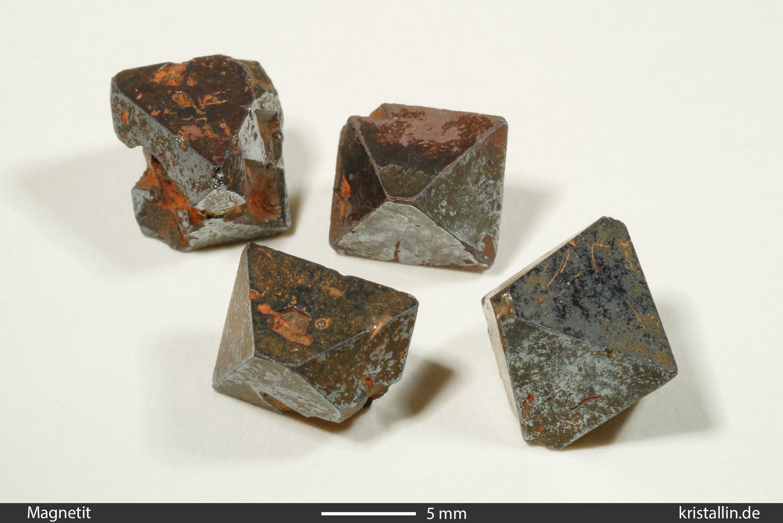 Magnetit als gesteinsbildendes Mineral.